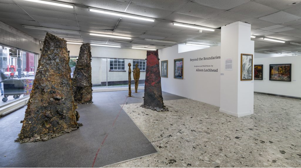 Conflict, Migration and Abandonment  – Sculptural installation